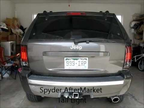 Jeep Wk Spyder Tail Lights Before After Youtube