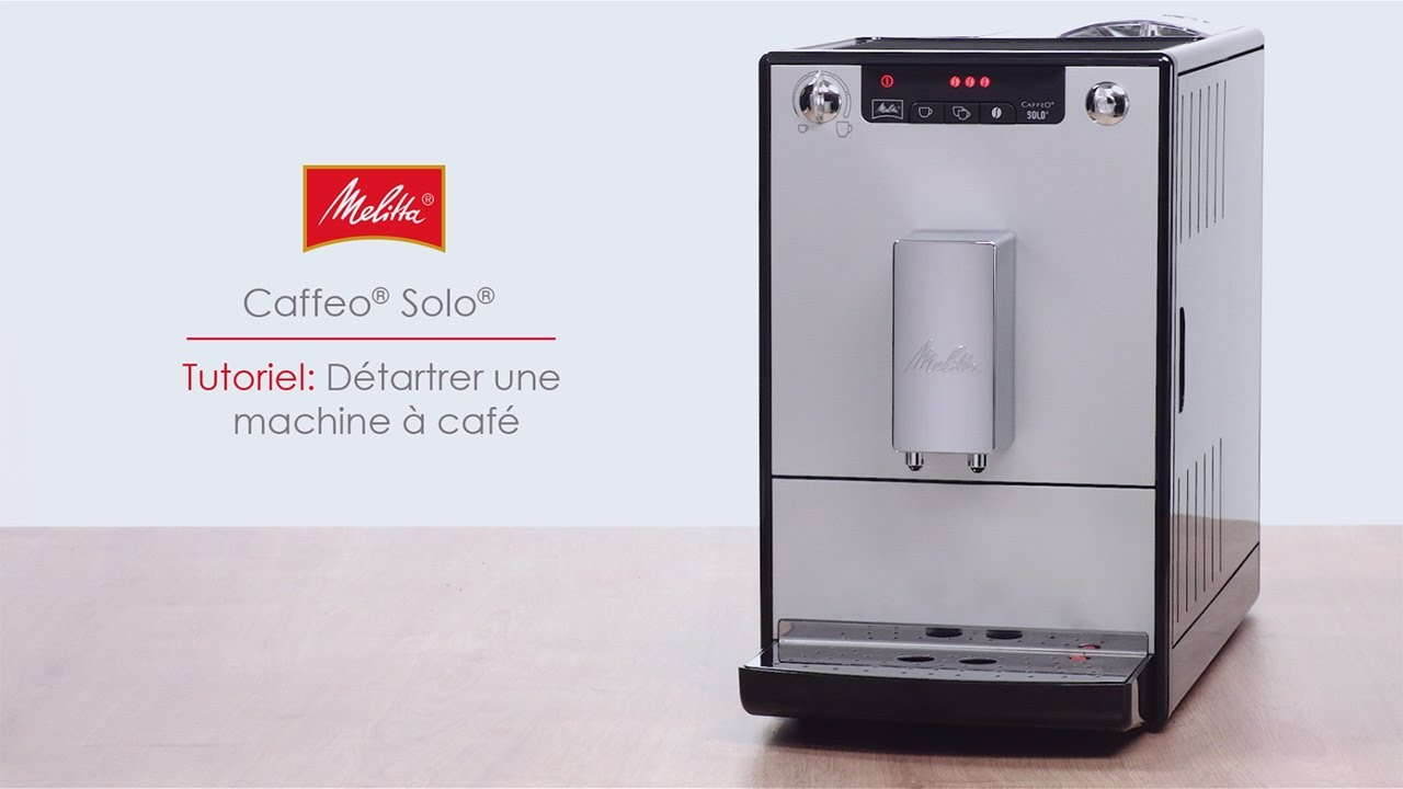 Solo Tutoriel Detartrer Une Machine A Cafe Youtube