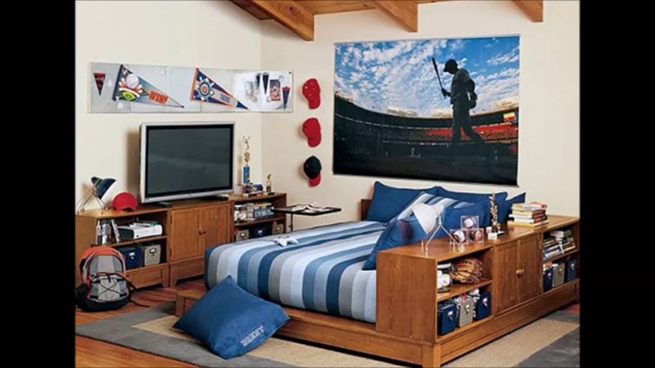 Room posters for guys ideas youtube - Essentials for a boys bedroom ...