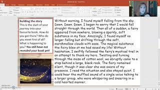 WBD writing