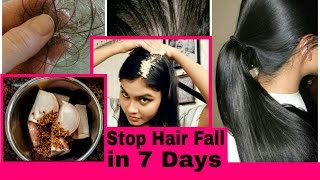 Download lagu Get rid of Hair fall in just 7 days what causes Hairfall onion hair mask MP3