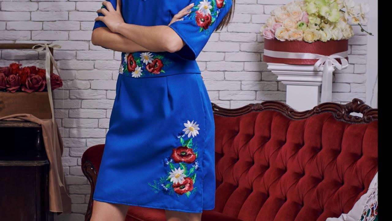 Вишиті жіночі плаття. Українська Вишиванка з Коломиї 3f2ca32707157