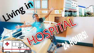 Living in HOSPITAL for 24 hours !! Very Unique Experience 😊😊 | Aaghnya Kumar Vlogs