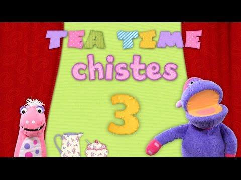 Tea Time Chistes   Nº3   Susto en la cocina   Los mejores chistes para niños!