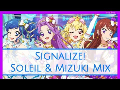 Aikatsu! - Signalize! - Soleil & Mizuki Mix