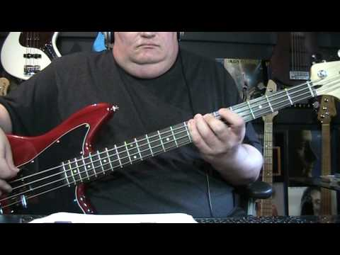 Bob Marley  & The Wailers Stir It Up Bass Cover With Notes & Tablature