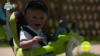 Tricikli huzattal Baby Driver Comfort Blue Smoby