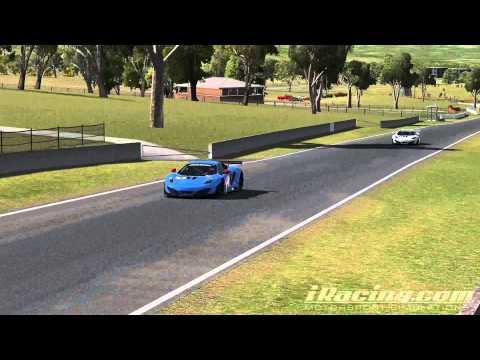 iRacing Bathurst Mount Panorama Circuit McLaren MP4-12C GT3 Onboard Gyro + TV Cam