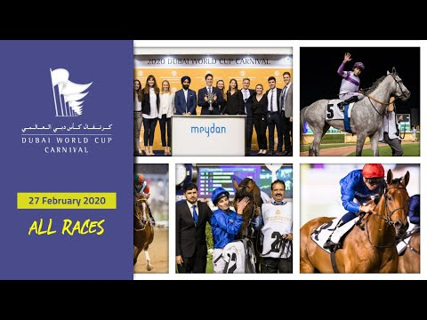 [ALL RACES] Dubai World Cup Carnival - 27 February 2020