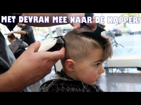 HOW TO: KAPSEL VAN DEVRAN ✂ | STOER JONGENSKAPSEL (FADE HAIRCUT)| #24