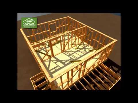 Строительство каркасных домов видео уроки