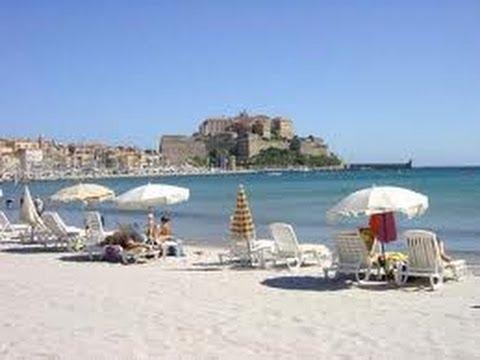 France Corse la citadelle et vieille ville de Calvi - YouTube