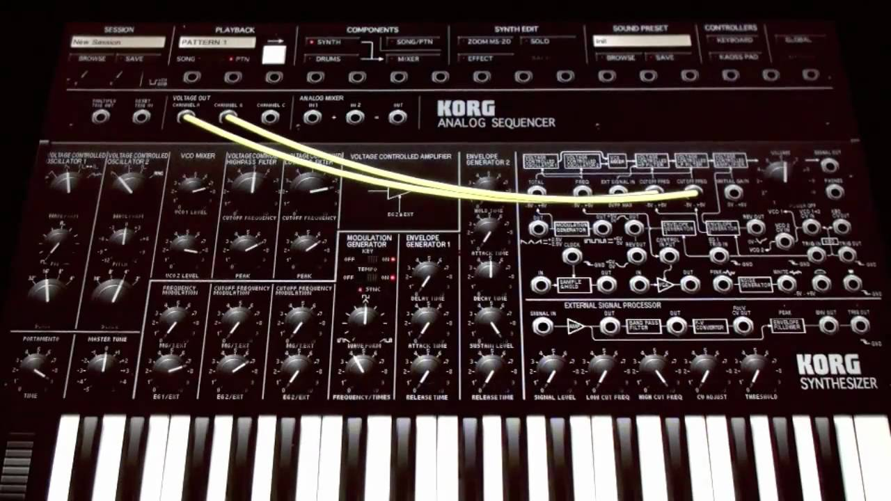 new ipad korg ims20 analog synth and drum machine emulator detailed review part a youtube. Black Bedroom Furniture Sets. Home Design Ideas