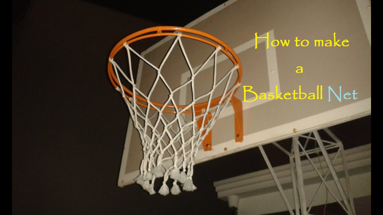 Homemade basketball hoop basketball scores for How to build a basketball goal