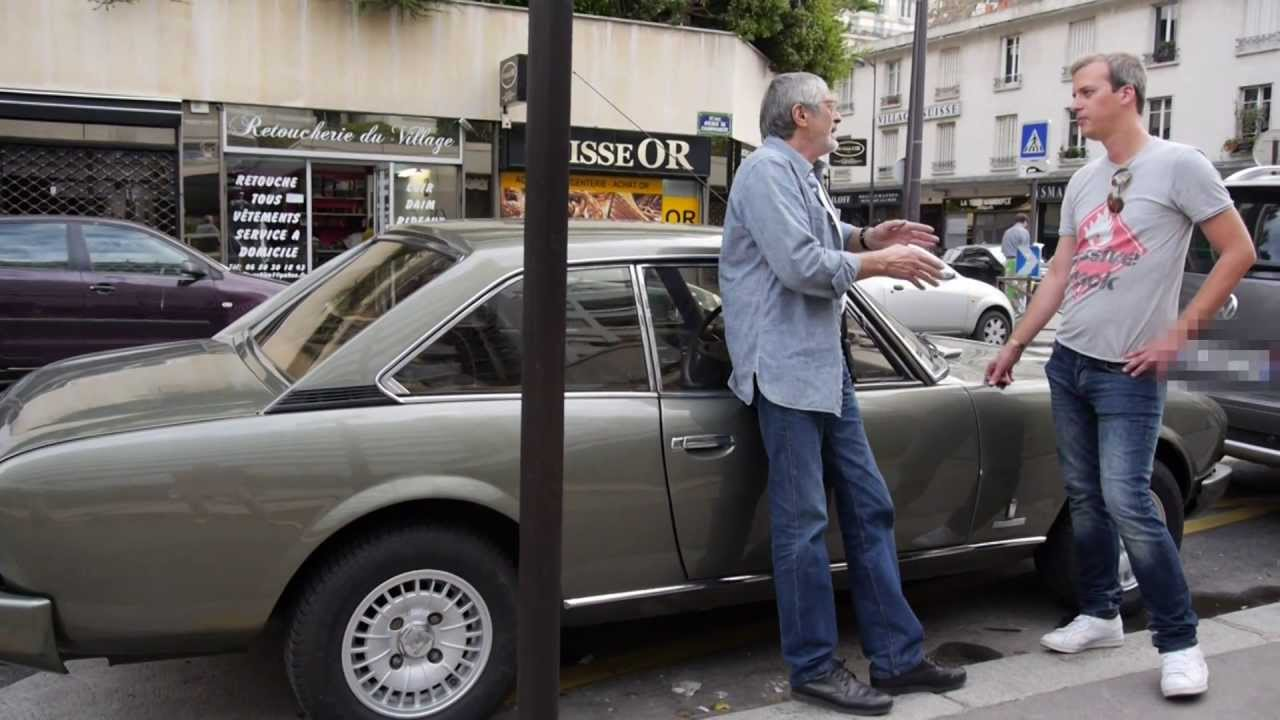Buying A Peugeot 504 Coupe In Paris Youtube