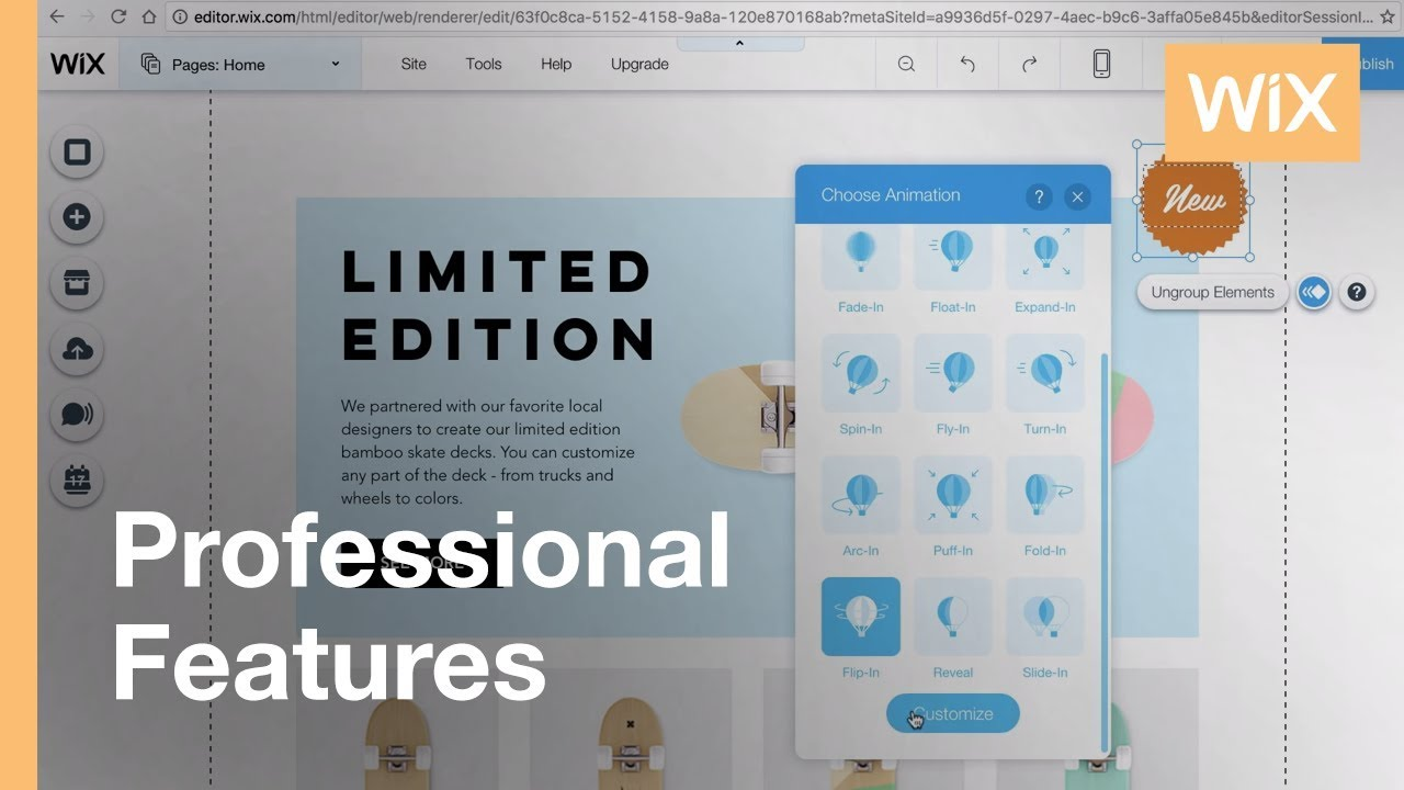 Animation Effects   Easily Add Animation Effects to Your Wix Website