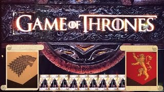 Game of Thrones Slot Machine - Big Wins, Live Play & Progressives!(Winter is coming!!! In honor of the Season Six premiere of Game of Thrones tonight, we bring you a compilation of some of our best wins on this slot. First up ..., 2016-04-24T11:00:01.000Z)