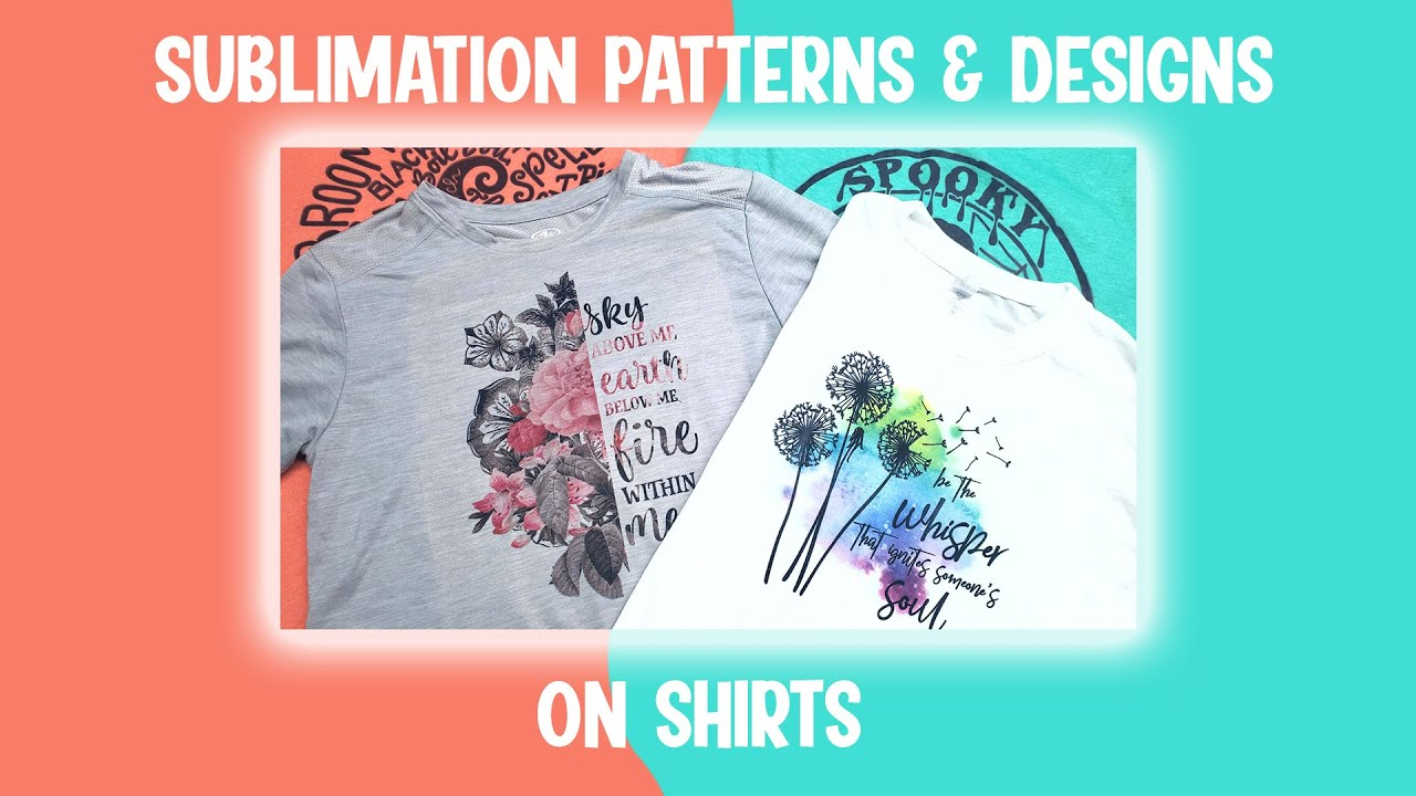 Download How to Use Sublimation Patterns and Designs on Shirts