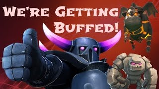 CRAZY UPDATE BUFF COMING SOON!! || Clash of Clans || The Revival of Clash!