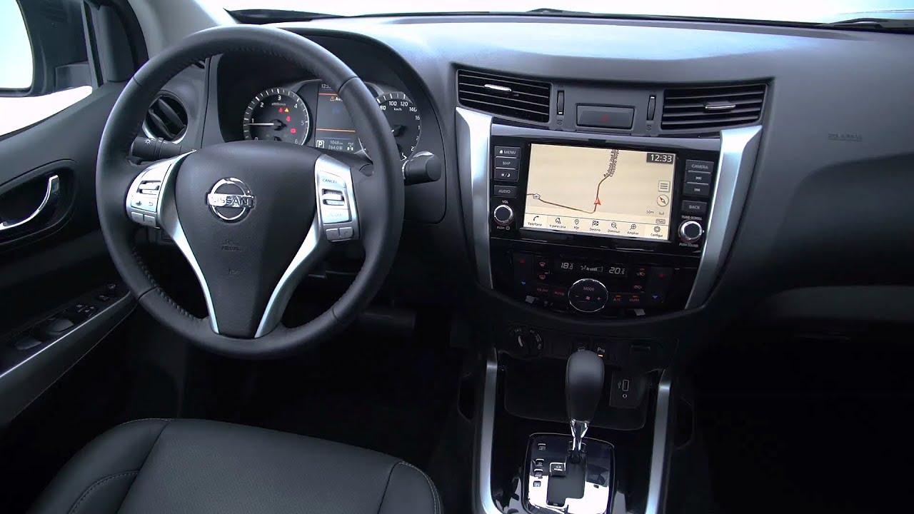 2019 Nissan Frontier LE Interior (Brazil)