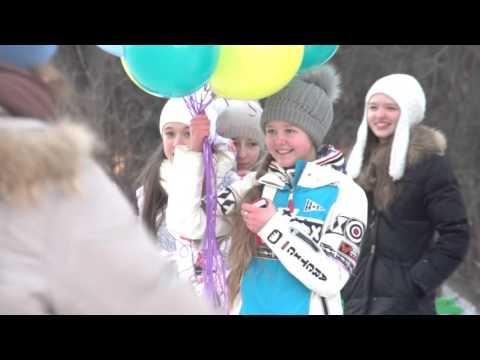 Видео, Танцевальный флешмоб на День рождения в Красноярске
