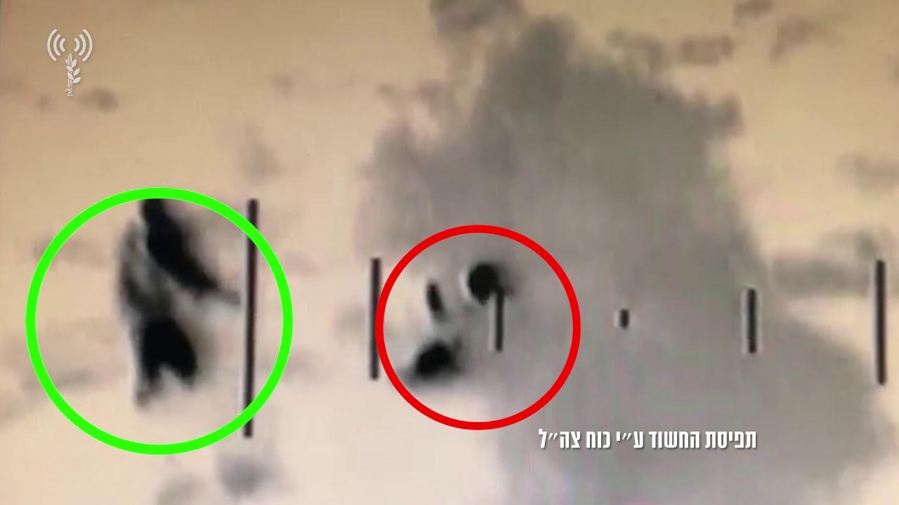 """תיעוד: ניסיון חדירת מחבלים לאיתמר כפי שנקלט במצלמות צה""""ל"""