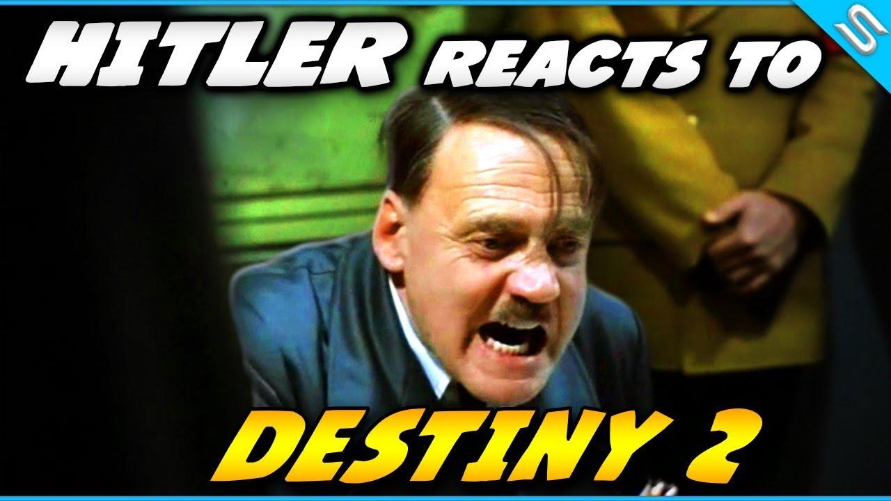 maxresdefault hitler reacts to destiny 2 raid! youtube