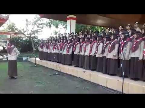 Paduan Suara Hymne Pramuka - MAN KOTA BLITAR