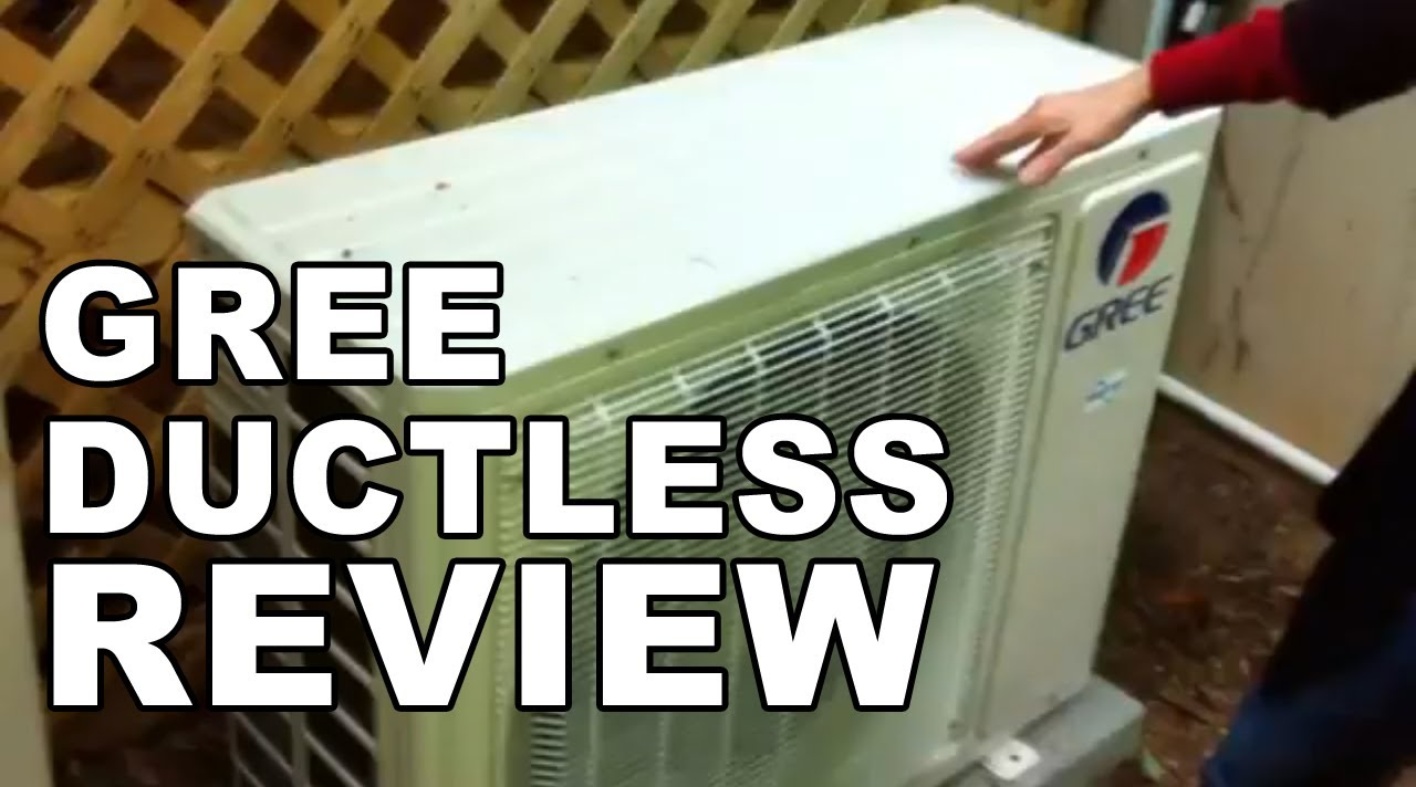 Gree Ductless Air Conditioner Installation Youtube