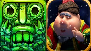 Temple Run 2 Lost Jungle VS Fananees Adventure Run Android iPad iOS Gameplay HD