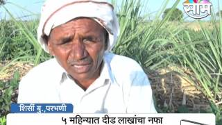 1.5 lakh Profit in 5 Months, Success Story of Sugarcane farming in-spite of water shortage