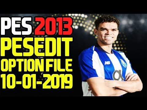 PES 2013 Option File Winter Transfers 10/01/2019 For PESEdit