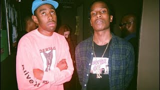 """Tyler, The Creator and A$AP Rocky Acting Like a Married Couple for 9 Minutes """"Straight"""""""