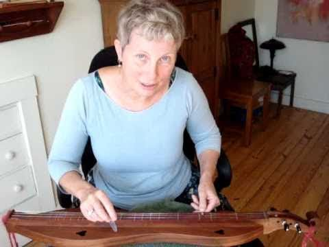 Traditional mountain dulcimer BEGINNER#10 Rhody1