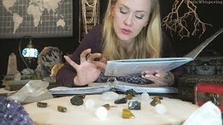 Crystals Cataloging 💎 ASMR • Page Flipping • Unintell...