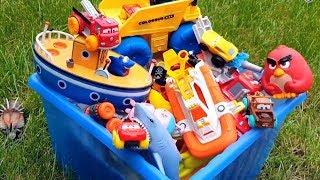 Мультики про Машинки все серии подряд с игрушками Прямой эфир