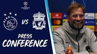 Liverpool's Champions League press conference | Ajax