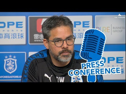 PRESS CONFERENCE | David Wagner previews Manchester City