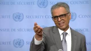 India on India & Pakistan - Media Stakeout (16 August 2019)