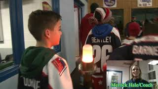 BATAVIA/Empire State Winter Games torch passes through at Falleti ice rink
