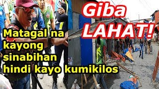 VENDORS, GIBA LAHAT! Zapote, Las Pinas Clearing Operation Update 2019