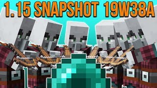 Minecraft 1.15 Snapshot 19w38a Pillager, Boats & Ender Pearl Fixes!