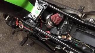 Italika  linea Z 150 Z 125z 170z 250z modificada kit Turbo Electrico para moto