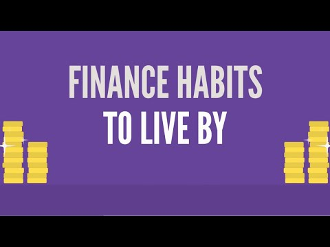 Finance Habits to Live By | Financial Literacy Month 2020