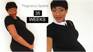 35 WEEKS PREGNANCY UPDATE + A GIVEAWAY