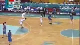 2006多哈亚运会男篮中国VS韩国g