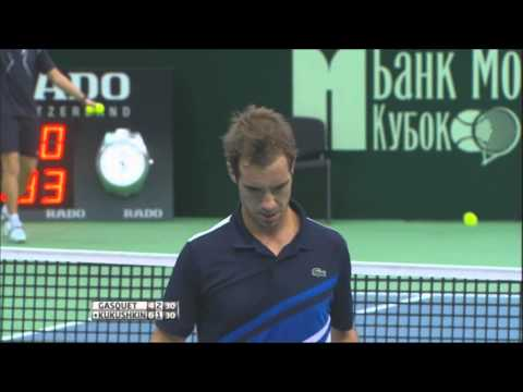 Moscow 2013 Final Highlights: Gasquet and Kukushkin