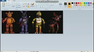 [SPEED EDIT/FNAF] Withered Classic Animatronics , Special my Birthday