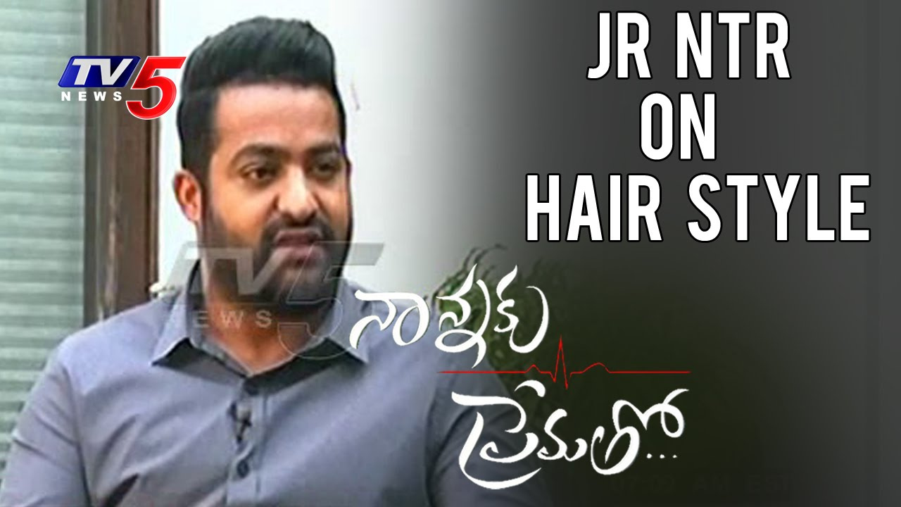 Jr Ntr About His Hairstyle In Nannaku Prematho Jagapati Babu