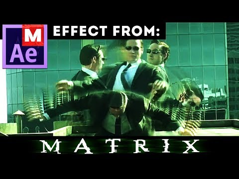 After Effects Tutorial: Matrix - Dodging bullets - Agent not Smith - Neo - Dodge This